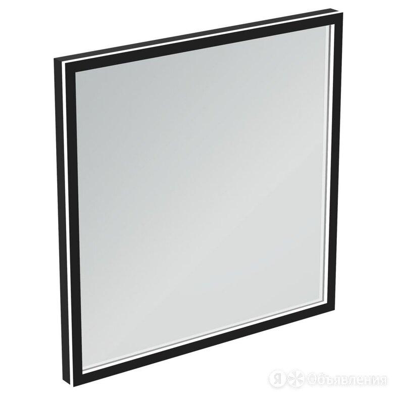 Зеркало Ideal Standard CONCA (600х600х38) с LED подсветкой, квадратное, черна... по цене 50341₽ - Интерьерная подсветка, фото 0