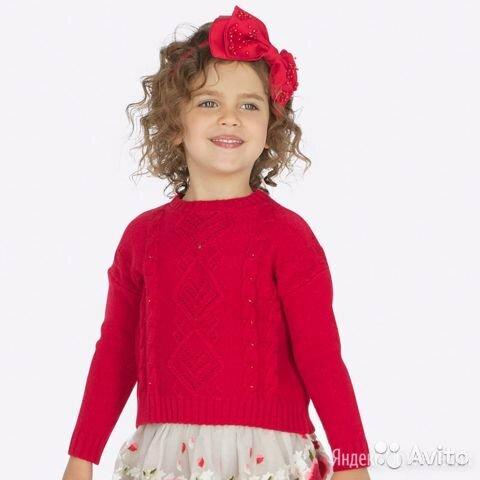 Свитер Mayoral для девочки, 2 года по цене 2703₽ - Свитеры и кардиганы, фото 0
