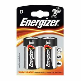 Батарейки - Батарейка Energizer R20, 0