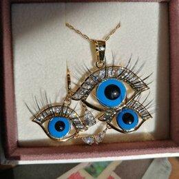 Комплекты - Глаза со слезинками. Сюрреалистический комплект., 0