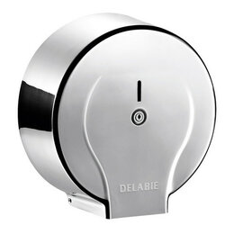 Мыльницы, стаканы и дозаторы - Диспенсер Delabie Jumbo для туалетной бумаги, полированный, 0