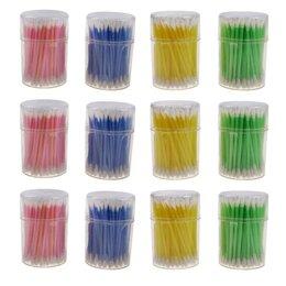 Ёмкости для хранения - Ватные палочки в банке 100 шт 1/12, 0