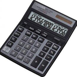 Калькуляторы - CITIZEN Калькулятор CITIZEN SDC-760N 16-разр., 0