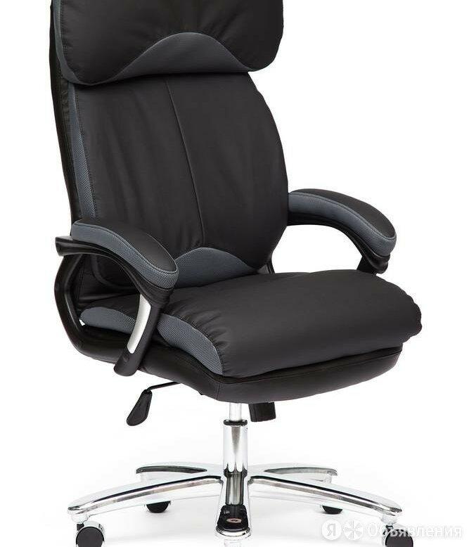 Компьютерное кресло Grand (Гранд) из натуральной кожи по цене 18290₽ - Мебель для кухни, фото 0