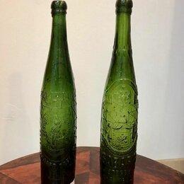 Этикетки, бутылки и пробки - Бутылка Бавария пивная Петербург стекло до 1917, 0