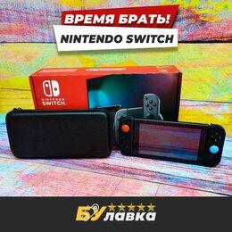 Игровые приставки - Nintendo switch + 128гб + 13 топ игр, 0