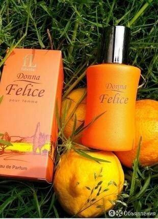 Парфюмерная вода для женщин Donna Felice по цене 700₽ - Парфюмерия, фото 0