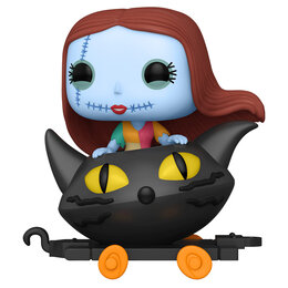 Игровые наборы и фигурки - Фигурка Funko POP! Trains: Disney: NBC: Sally in Cat Cart 50631, 0