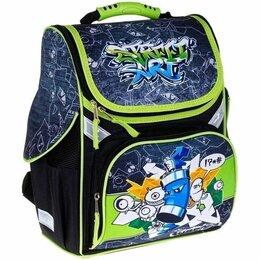 Рюкзаки, ранцы, сумки - Ранец ArtSpace Junior «Street art» 37*28*21см, 1 отделение, 3 кармана, анатомиче, 0