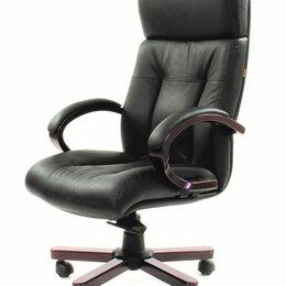 Компьютерные кресла - Компьютерное кресло CHAIRMAN 421 для руководителя, 0