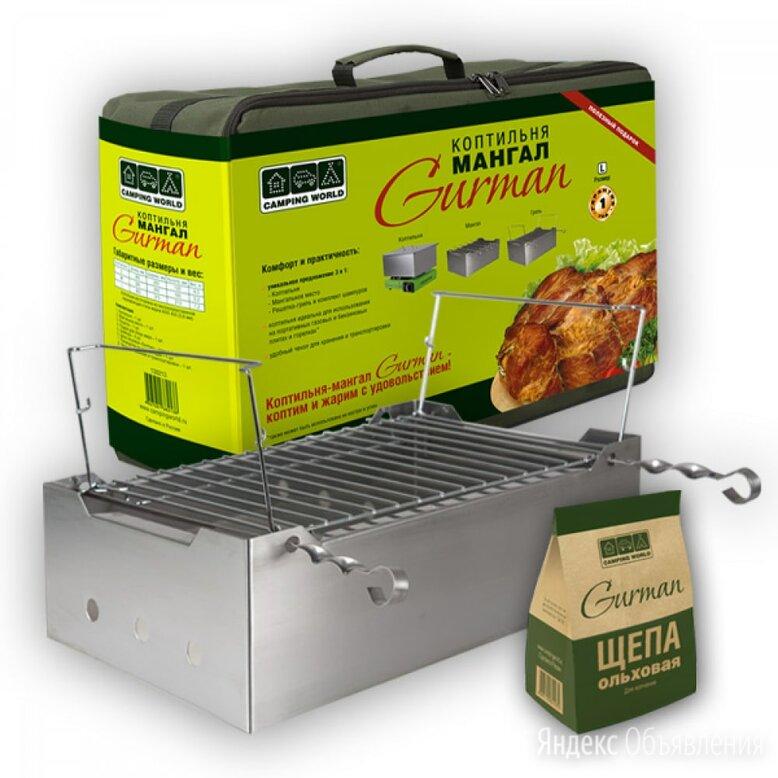 Коптильня-мангал Camping World Gurman по цене 4409₽ - Грили, мангалы, коптильни, фото 0