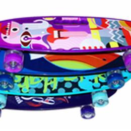 Скейтборды и лонгборды - Пенни Борд с ручкой, 0
