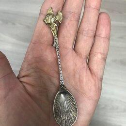 Столовые приборы - Серебряная чайная ложка , 0