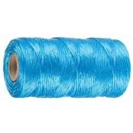 Веревки и шнуры - Нить синтетич.шпагат 110м синий, 0