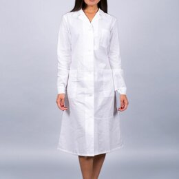 Одежда и аксессуары - Халат медицинский, 0
