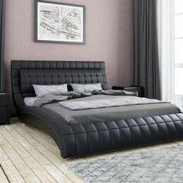 Кровати - Кровать эко кожа, 0