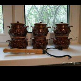 Посуда для выпечки и запекания - Горшочки для запекания набор 6 шт, 0