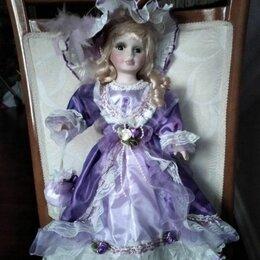 Куклы и пупсы - Кукла Анжелика из фарфора, 0