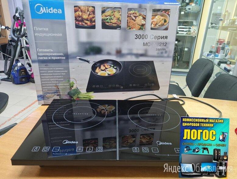 Плита индукция, электрическая Midea MC-IN2212 по цене 5000₽ - Плиты и варочные панели, фото 0