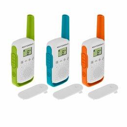 Рации - Комплект радиостанций Motorola T42 TRIPLE TALKABOUT, 0