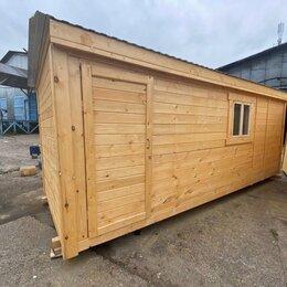 Готовые строения - бытовка деревянная 6х2.30 А-719, 0