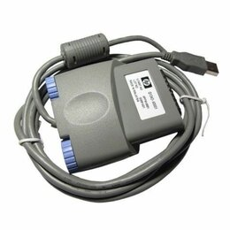 Аксессуары и запчасти для оргтехники - Кабель НР Q1342-60001 LPT--->USB для HP LJ1000w, 0