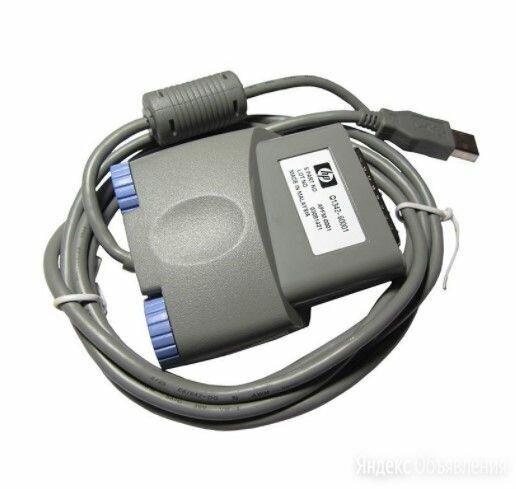 Кабель НР Q1342-60001 LPT--->USB для HP LJ1000w по цене 400₽ - Аксессуары и запчасти для оргтехники, фото 0
