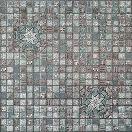 Декоративные фонтаны и панели - Медальон олива мозаика 957*480мм (30), 0