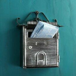 Почтовые ящики - Ящик почтовый 2005, старое серебро, 0