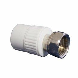 Водопроводные трубы и фитинги - KALDE Муфта комбинированная с накидной гайкой,…, 0