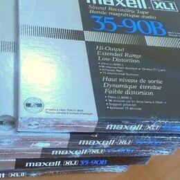 Музыкальные CD и аудиокассеты - Магнитная лента бобины Maxell XLI 35-90 , 0