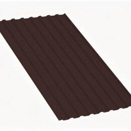Кровля и водосток - Профнастил МП20 A Полиэстер 0,65 мм RAL 8017 Шоколад, 0
