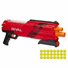 Игрушечное оружие и бластеры - Бластер Nerf Райвал Атлас Красный B3856, 0