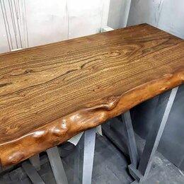 Полки, стойки, этажерки - Столешница в санузел из слэба, от производителя, 0
