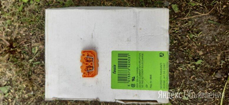 Клемма WKF 2,5/M /15 Orange по цене 10₽ - Электрические щиты и комплектующие, фото 0