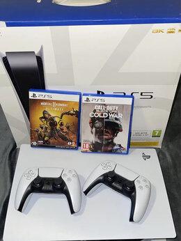 Игровые приставки - Sony Playstation PS5 + 2 DualSense, 0