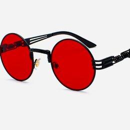 Очки и аксессуары - Стимпанк солнцезащитные очки красные Тишейды , 0