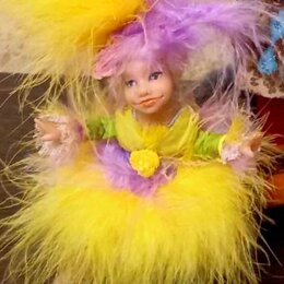 Рукоделие, поделки и сопутствующие товары - Подвижная кукла ручной работы, 0