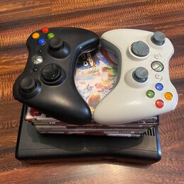 Игровые приставки - Xbox 360 прошитый LT 3.0  2 джойстика, 0