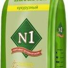 Наполнители для туалетов - N1 NATUReL Кукурузный Комкующийся 17,5л, 0