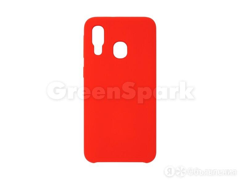 Накладка Vixion для Samsung A405 Galaxy A40 (красный) по цене 300₽ - Чехлы, фото 0