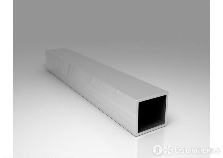 Труба алюминиевая квадратная 100х100х2 АД31Т1 по цене 223₽ - Металлопрокат, фото 0