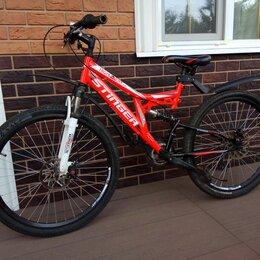 Велосипеды - Велосипед двухподвес св красный стингер, 0