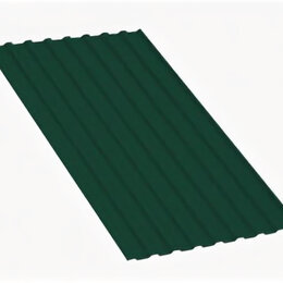 Кровля и водосток - Профнастил МП20 A Полиэстер 0,65 мм RAL 6005 Зеленый мох, 0