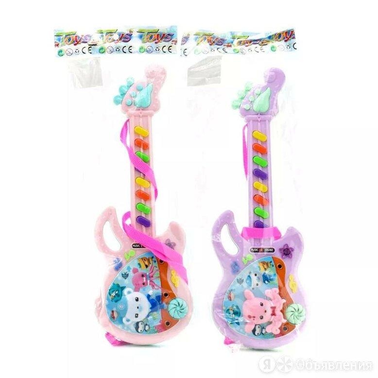 Гитара на бат. 37см, пак. 318-5E OBL961662 по цене 260₽ - Акустические и классические гитары, фото 0