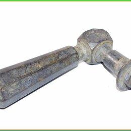 Ручки дверные - РУЧКА ДВЕРНАЯ старинная 108*61мм 224,4гр бронза, 0