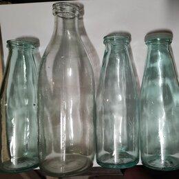 Этикетки, бутылки и пробки - Советские молочные бутылки, 0