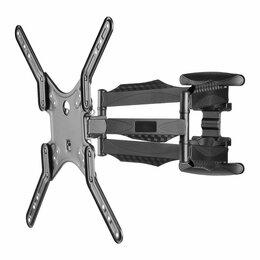 Кронштейны, держатели и подставки - Наклонно-поворотный кронштейн для телевизора Godigital VESA, 0