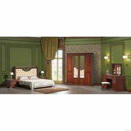 Кровати - Спальня Берта тёмный орех, 0