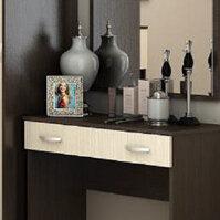 Столы и столики - Стол макияжный Бася + зеркало, 0